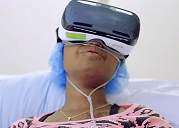 Обезболивание с помощью виртуальной реальности