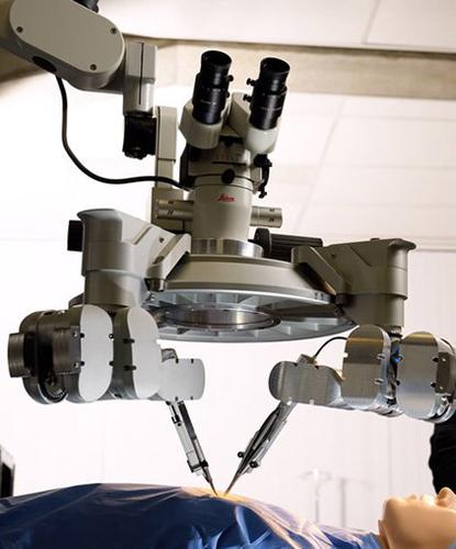 медицинский робот для микрохирургии