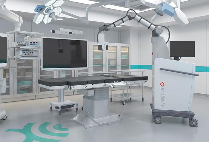 роботизированный хирургический микроскоп