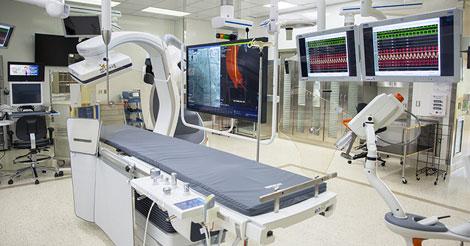 Гибридный операционный зал Мичиганского университета