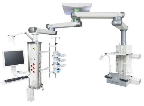 Медицинские консоли для операционных и реанимаций