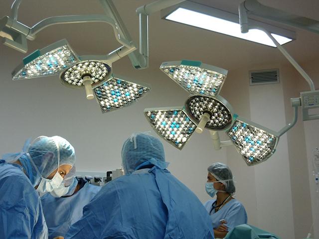 двухкупольный операционный светильник потолочный Kalea 30-Kalea 20