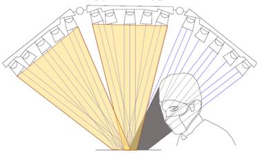 хирургический светильник с тенью