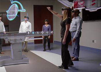 Проектирование операционных с гарнитурой Microsoft HoloLens