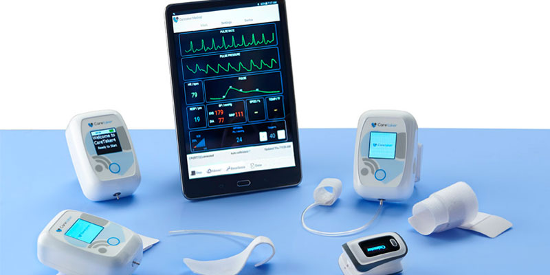 Портативный монитор витальных параметров пациента CareTaker