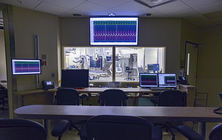 Диспетчерская операционного зала Мичиганского университета